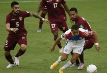 duelo ante Chile