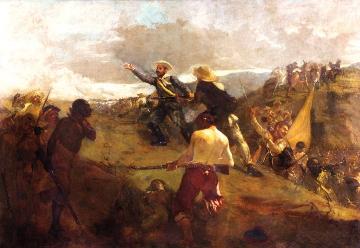Batalla de La Victoria 1903. Tito Salas
