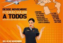 Conviasa activará todas las rutas aéreas nacionales