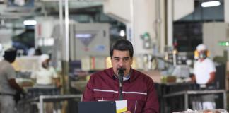 """Presidente Maduro: """"2021 retomamos crecimiento real de la economía"""""""
