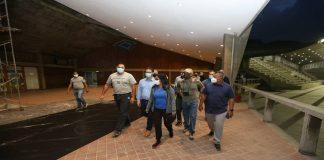 rescate en espacios de la UCV