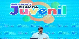 Maduro desde la Misión Chamba Juvenil llama a una economía diversificada