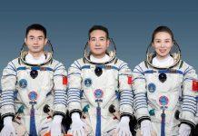 taikonautas-china-misión espacial