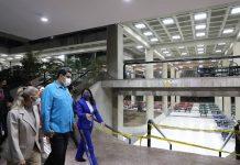 Esto dijo el Pdte. Maduro tras inspeccionar trabajos de recuperación en la UCV