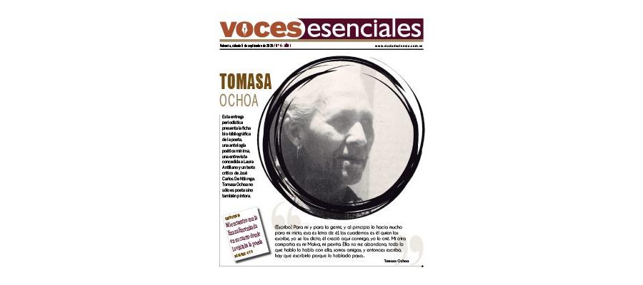 VOCES ESENCIALES Nº 4 - TOMASA OCHOA